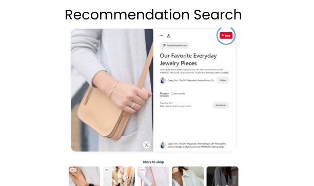 Recommendation-search